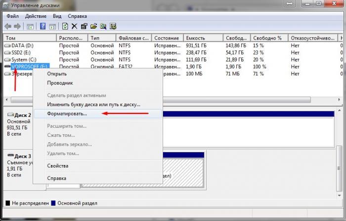 Windows не удается завершить форматирование microsd - c8673