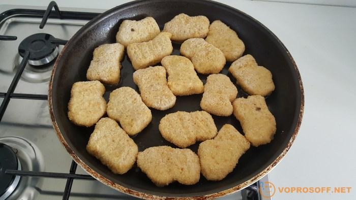 Как готовить готовые наггетсы